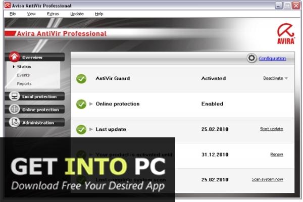 Avira Antivirus Pro v15.0.18.354 Lifetime