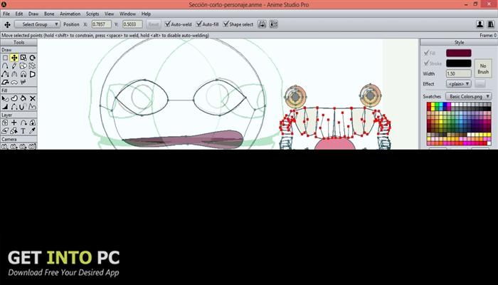Smith Micro Anime Studio Pro v11 64 Bit