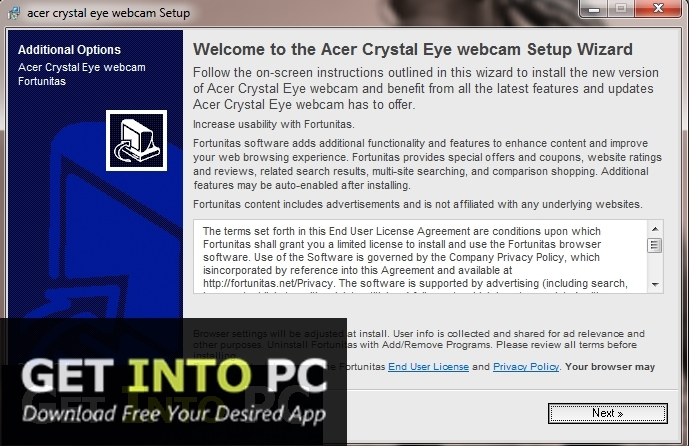Acer Crystal Eye Webcam