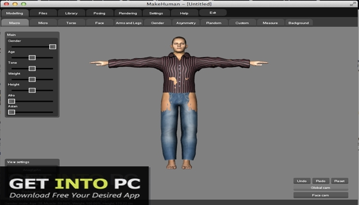 MakeHuman Software