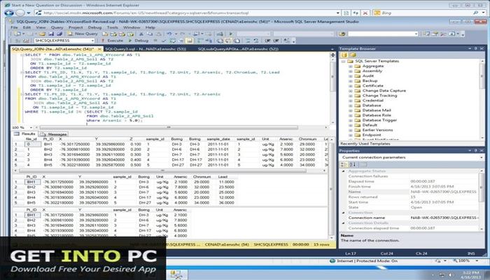 SQL Server 2012 EManagement Studio