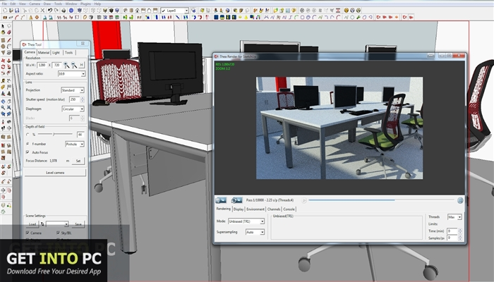 Thea Render For Sketchup