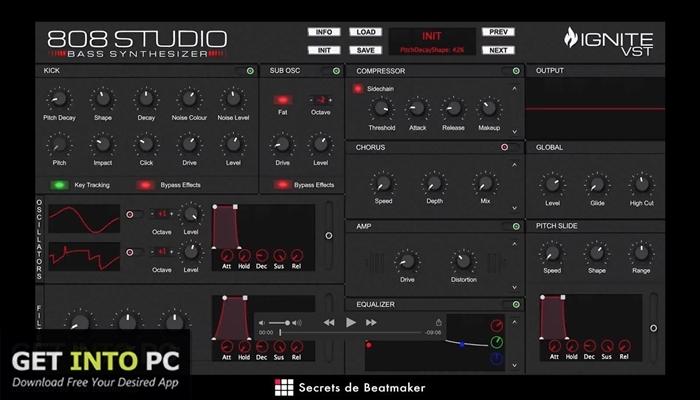 808 Studio VST