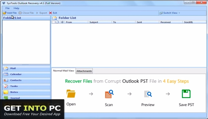 SysTools Outlook Recovery 2019