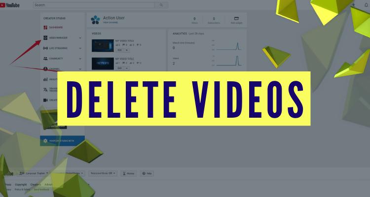 delete videos