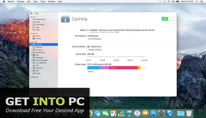 macOS Server 5.2