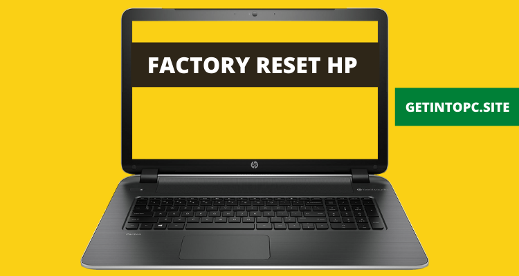 Factory Reset HP
