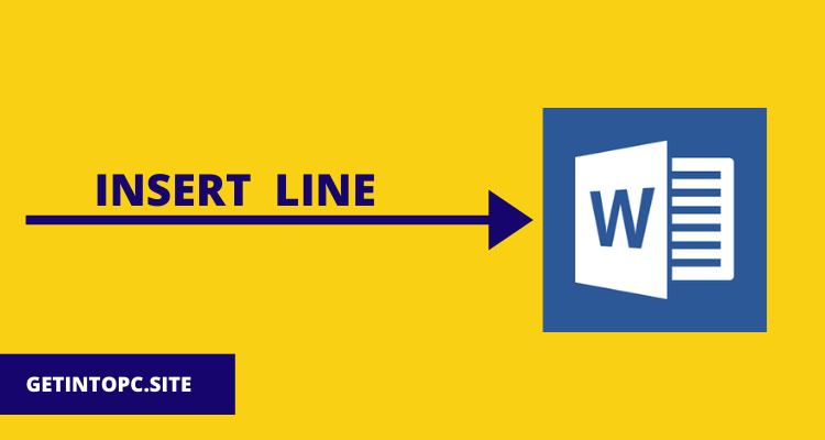 How to Insert a Line
