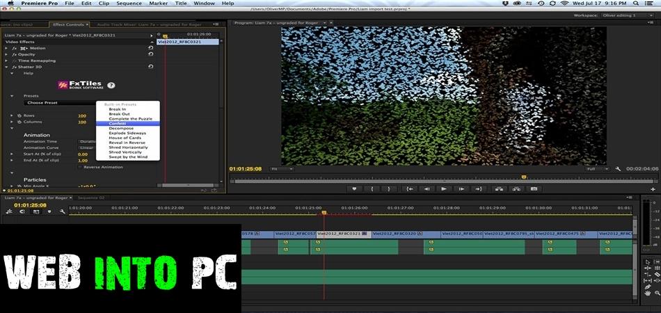 Adobe Premiere Pro 2017 v11 DMG For Mac OS-getintopc