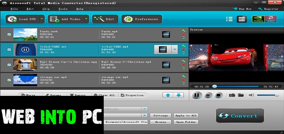Aiseesoft Total Media Converter-get into pc