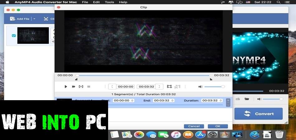 AnyMP4 Audio Converter-get into pc