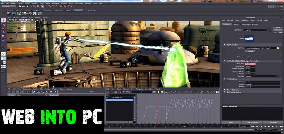 Autodesk Maya 2014-getintodesktop