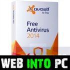 Avast Antivirus 2014 web into pc