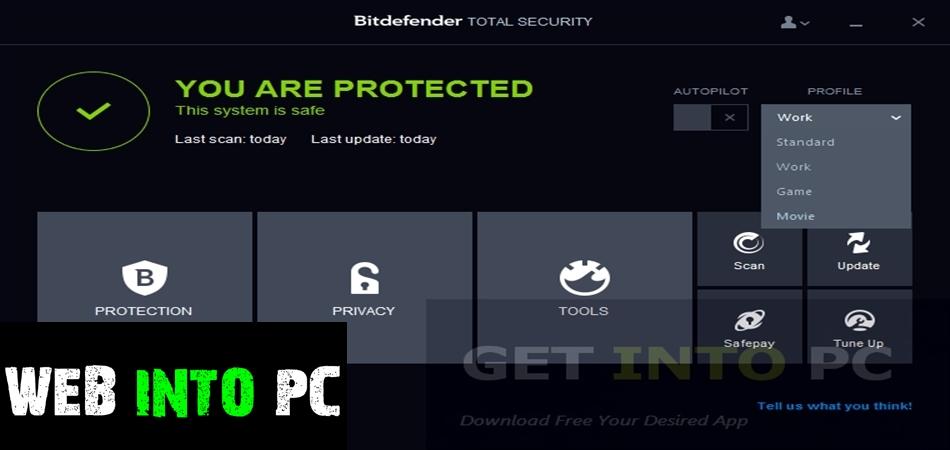 Bitdefender Total Security 2015-get into pc