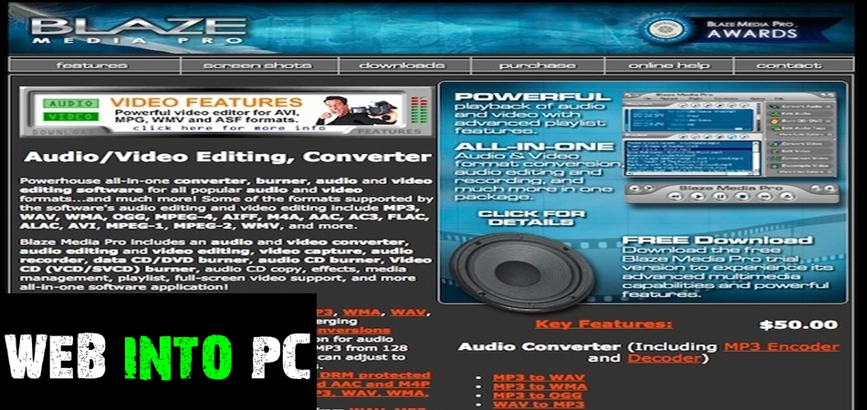 Blaze Media Pro 10-get into pc