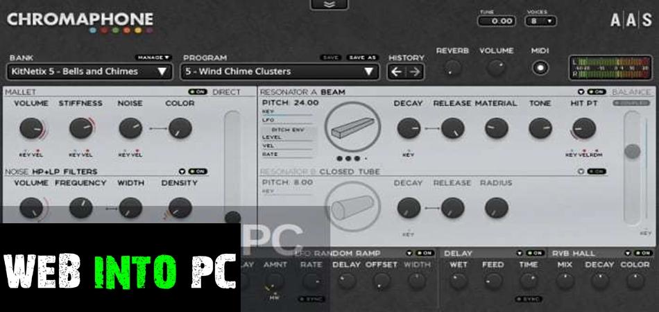 Chromaphone VST-get into pc