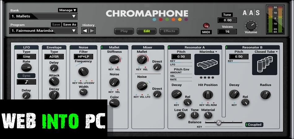 Chromaphone VST-getintopcs