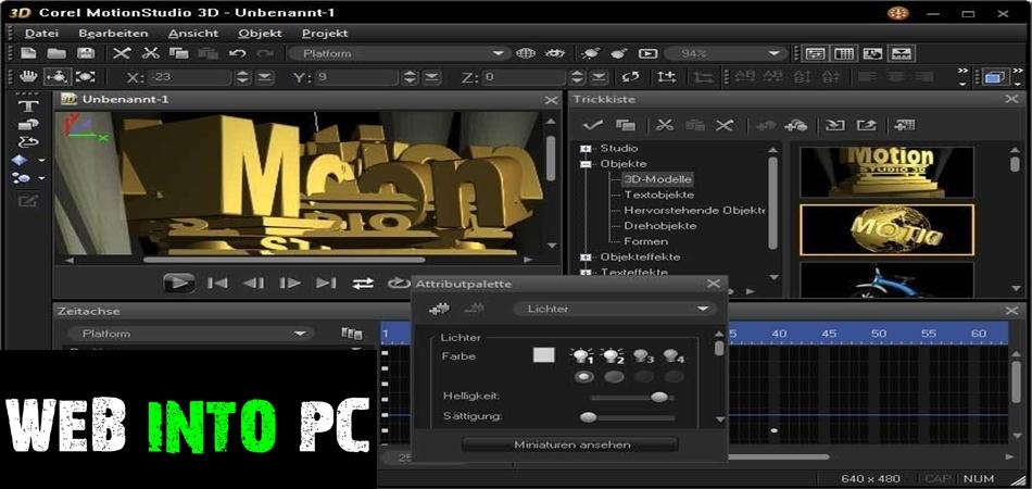 Corel Motion Studio 3D-getintopc