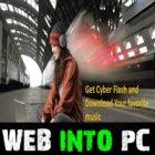 CyberFlash web into pc