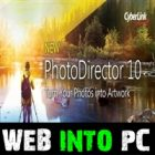 CyberLink PhotoDirector Ultra web into pc