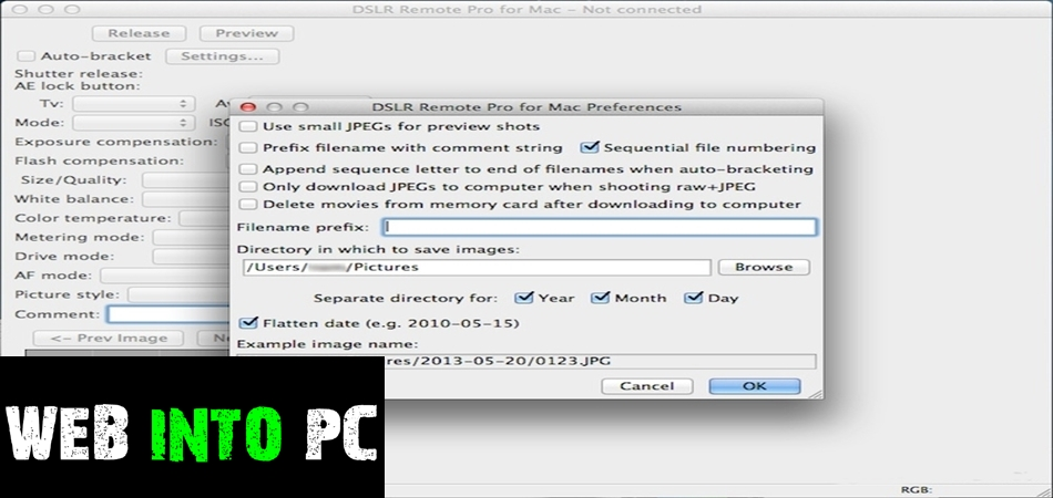DSLR Remote Pro 2013-getintopc
