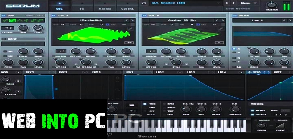 Futurephonic – Echotronics for Serum-getintopcs
