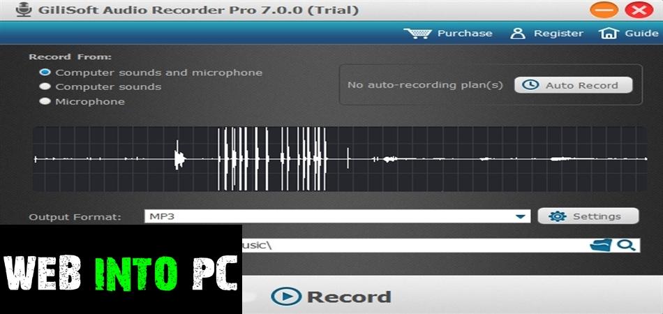 GiliSoft Audio Recorder Pro 2020-getintodesktop