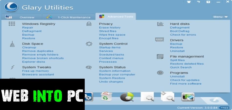 Glary Utilities Pro-getintopc