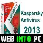 Kaspersky 2013 Setup For Windows web into pc