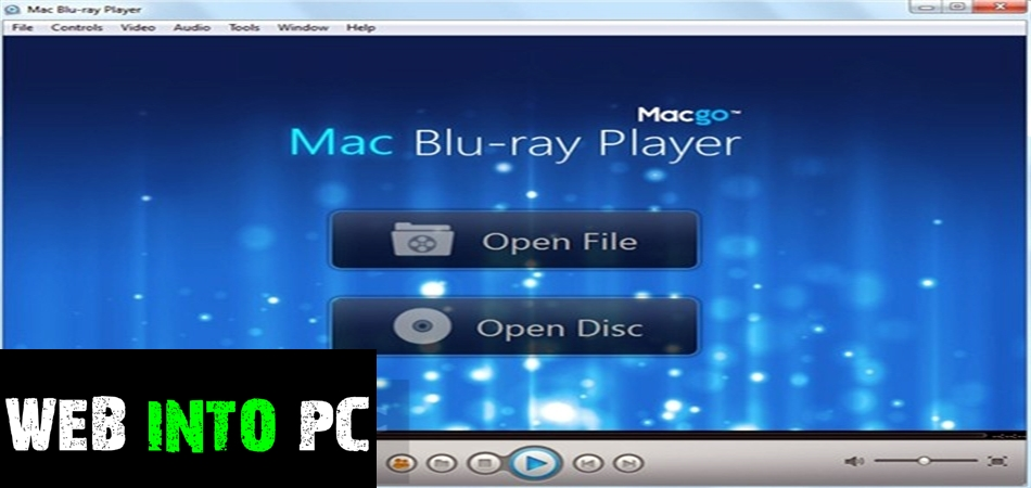 Macgo Windows Blu-ray Player-web into pc