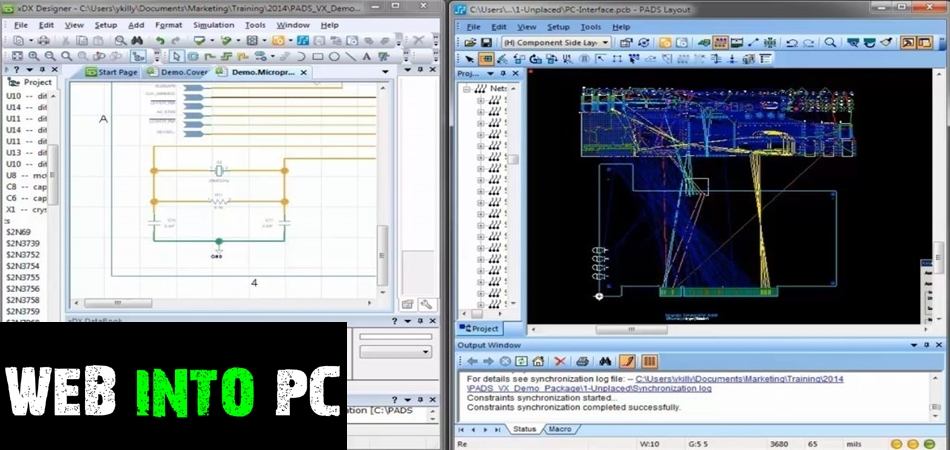 Mentor Graphics PADS Standard Plus-getintopc