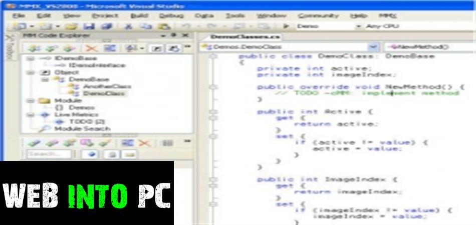 ModelMaker Code Explorer-getintopcs