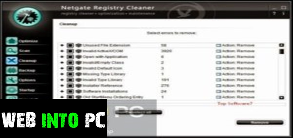 NETGATE Registry Cleaner 2020-getinto pc