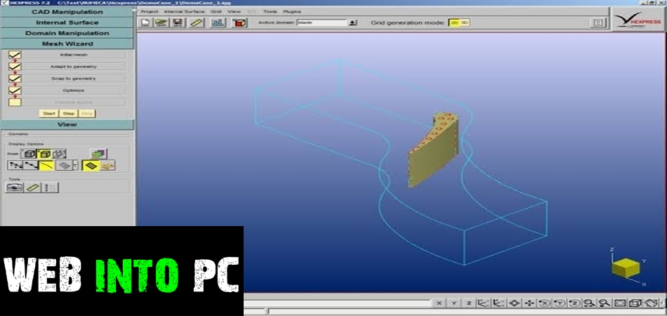 NUMECA HEXPRESS / Hybrid-getintopc site
