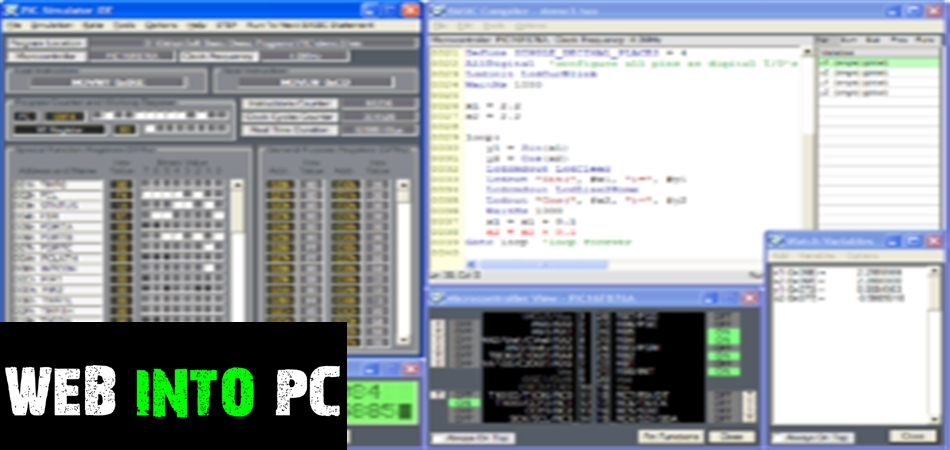 PIC Simulator IDE-getintomypc