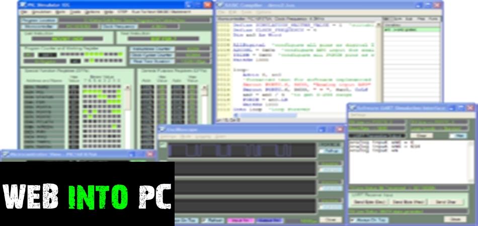 PIC Simulator IDE-web into pc