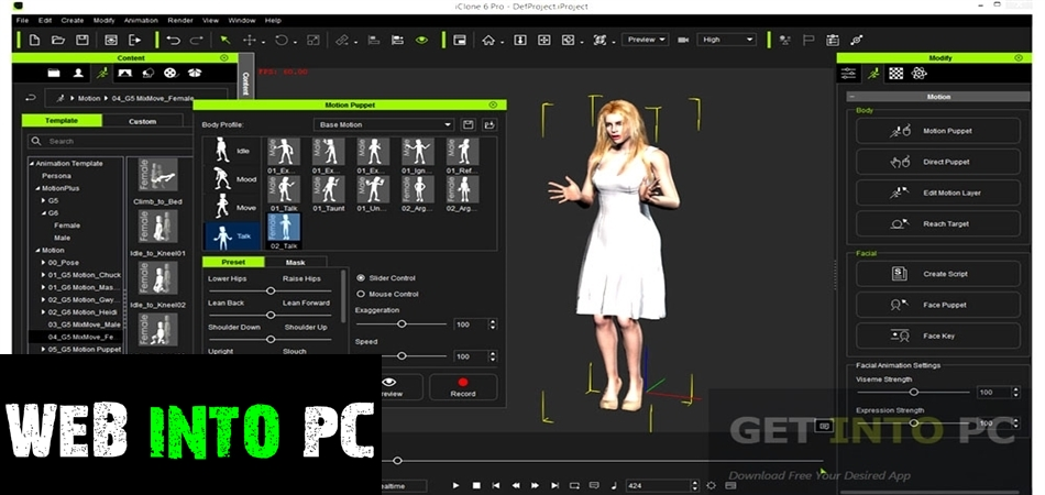 Reallusion iClone 6 Pro-getintopcs