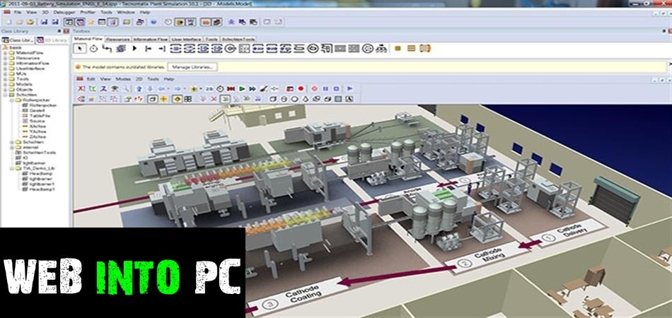 Siemens Tecnomatix Plant Simulation-getintopc website