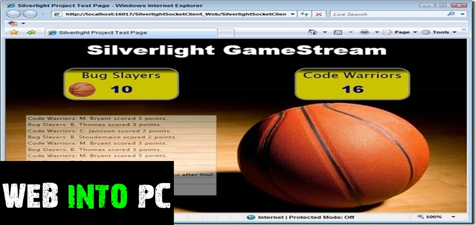 Silverlight-getintopc site