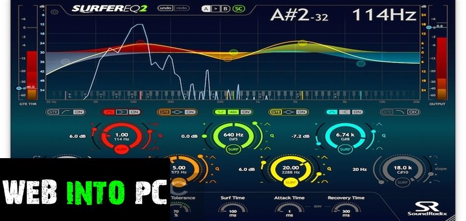 Sound Radix – SurferEQ 2020-getintopcs