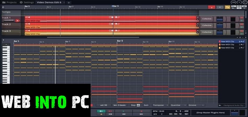 Tracktion Waveform Pro 11-getintopc website