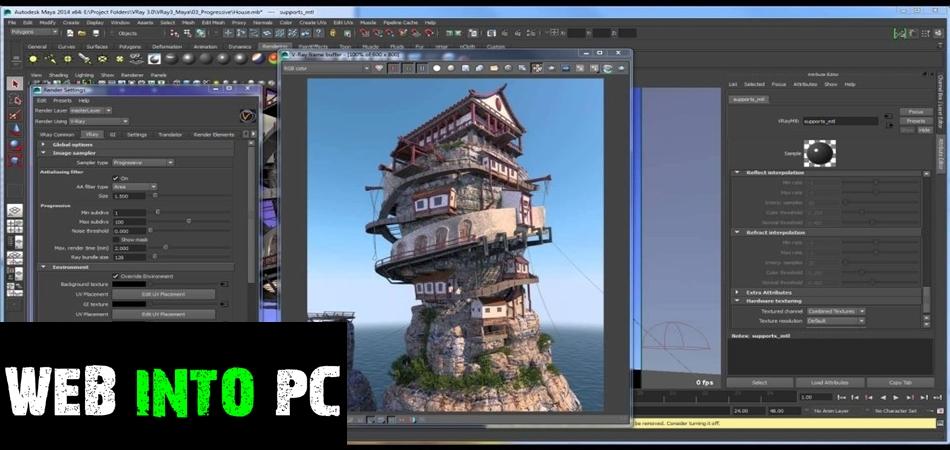 V-Ray For Maya 2015-getintodesktop