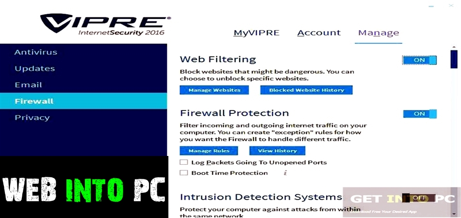VIPRE Internet Security with Firewall 2016-getintopc