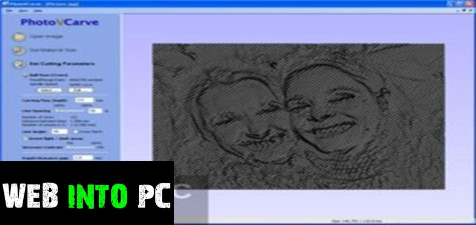 Vectric PhotoVCarve-web into pc