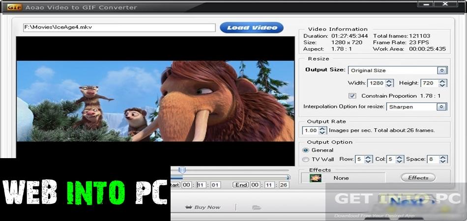 Video to GIF Converter-web into pc