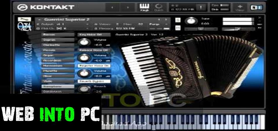 Virtual Acoustic Accordion KONTAKT-get into pc