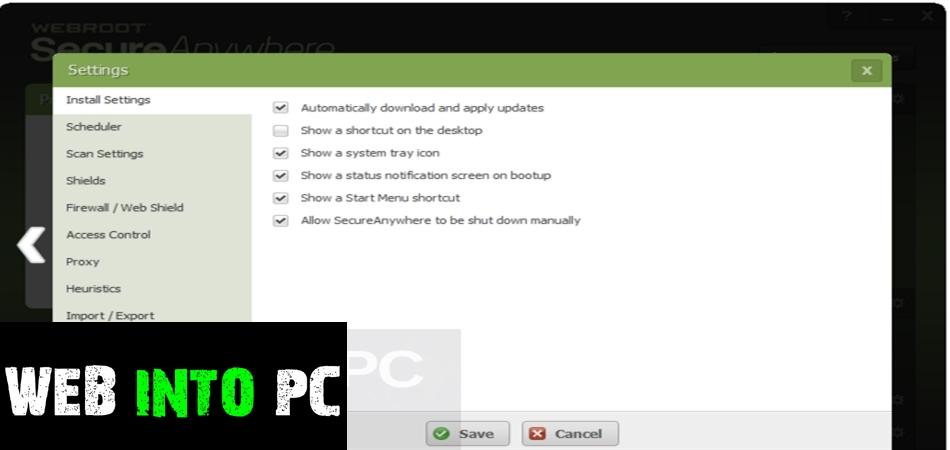 Webroot SecureAnywhere AntiVirus 9-getintopc site