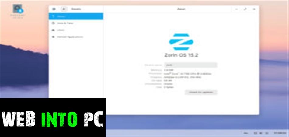 Zorin OS Ultiimate 2021-web into pc